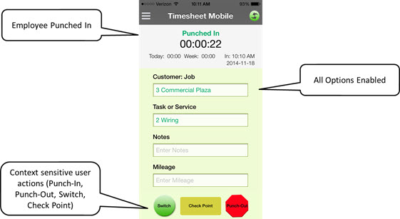 your lucky day employee tracking app sale time sheet mobile