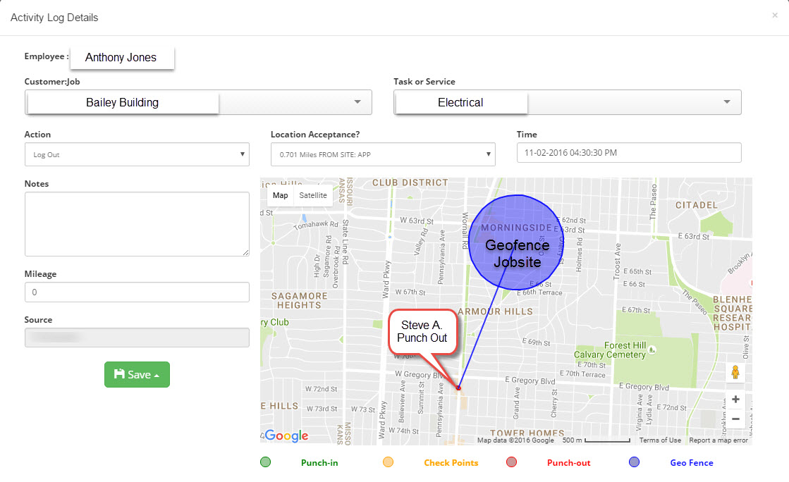 geofence time tracking