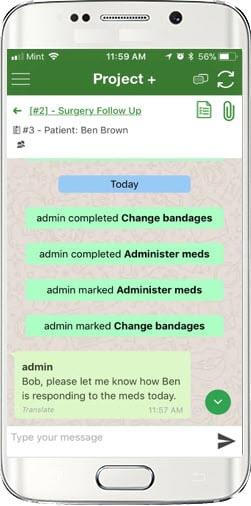 EVV- Caregiver messaging and notes